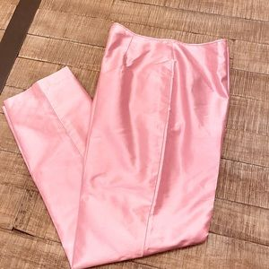 100% silk pants with lining